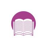 icono de la escuela del aprendizaje de libro libre illustration