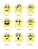 Icono de la estrella Fotografía de archivo