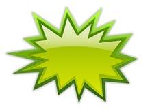 Icono de la estrella del auge stock de ilustración
