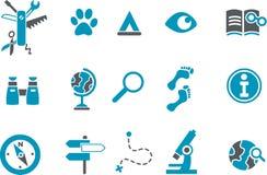 Icono de la exploración libre illustration