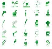 Icono de la farmacia Fotos de archivo libres de regalías