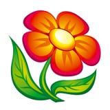 Icono de la flor Imagen de archivo libre de regalías