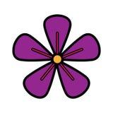 Icono de la flor Imagenes de archivo