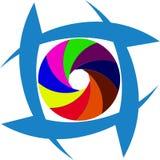 Icono de la foto del ejemplo para la compañía Foto de archivo libre de regalías