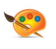 Icono de la gama de colores Imagen de archivo