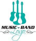 Icono de la guitarra Fotografía de archivo libre de regalías