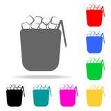 icono de la hielo-loza Elementos de la barra en iconos coloreados multi Icono superior del diseño gráfico de la calidad Icono sim libre illustration