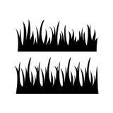 Icono de la hierba Ilustración del vector Fotografía de archivo libre de regalías
