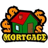 Icono de la hipoteca ilustración del vector