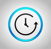 Icono de la historia alrededor del botón azul libre illustration