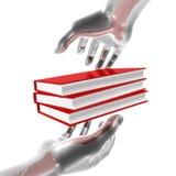 Icono de la información y de la educación Imagen de archivo
