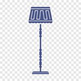 Icono de la lámpara Fotografía de archivo