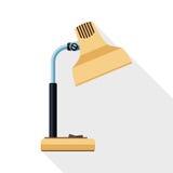 Icono de la lámpara de mesa Imagen de archivo