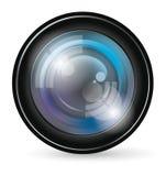 Icono de la lente de cámara ilustración del vector