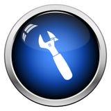Icono de la llave ajustable libre illustration