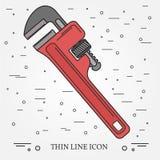 Icono de la llave Vector del icono de la llave Dibujo del icono de la llave Llave Ico Foto de archivo