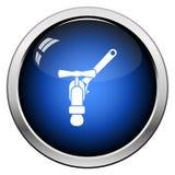 Icono de la llave y del grifo stock de ilustración