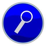 Icono de la lupa Imagen de archivo
