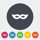 Icono de la máscara Foto de archivo