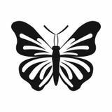Icono de la mariposa, estilo simple Fotos de archivo