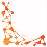 Icono de la molécula stock de ilustración