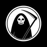 Icono de la muerte Foto de archivo libre de regalías