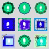 Icono de la muestra del calendario símbolo del mes de los días Botón de la fecha Imagenes de archivo