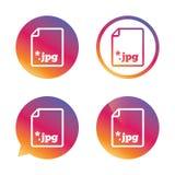 Icono de la muestra del JPG del fichero Archivo de imagen de la transferencia directa Imagen de archivo