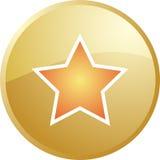 Icono de la navegación de la estrella stock de ilustración