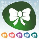 Icono de la Navidad Imagen de archivo libre de regalías