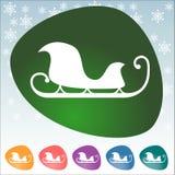 Icono de la Navidad Imagen de archivo