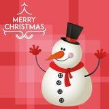 Icono de la Navidad stock de ilustración