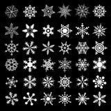 Icono de la nieve Imagenes de archivo