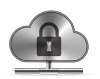 Icono de la nube Imagen de archivo