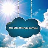 Icono de la nube Imagen de archivo libre de regalías
