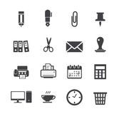 Icono de la oficina Foto de archivo libre de regalías