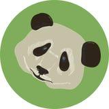 Icono de la panda Fotografía de archivo