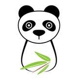 Icono de la panda Fotos de archivo