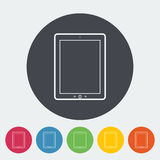 Icono de la PC de la tableta Fotos de archivo