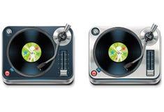 Icono de la placa giratoria XXL del vector Fotografía de archivo libre de regalías