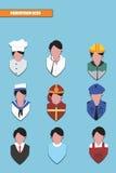 Icono de la profesión Imagenes de archivo