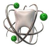 Icono de la protección del diente Fotos de archivo libres de regalías