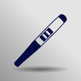 Icono de la prueba de embarazo Fotografía de archivo