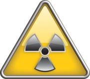 Icono de la radiación Imagen de archivo libre de regalías