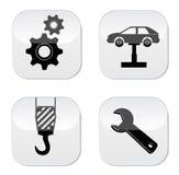 Icono de la reparación del coche Fotos de archivo