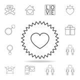 icono de la súplica del corazón Sistema de iconos del elemento del amor Diseño gráfico de la calidad superior Muestras, icono de  ilustración del vector