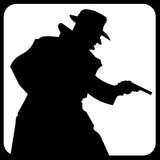Icono de la seguridad Fotografía de archivo libre de regalías