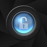Icono de la seguridad Imagenes de archivo