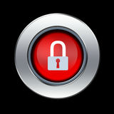Icono de la seguridad Foto de archivo