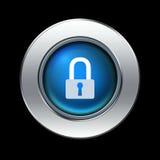 Icono de la seguridad stock de ilustración